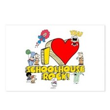 I Heart Schoolhouse Rock! Postcards (Package of 8)