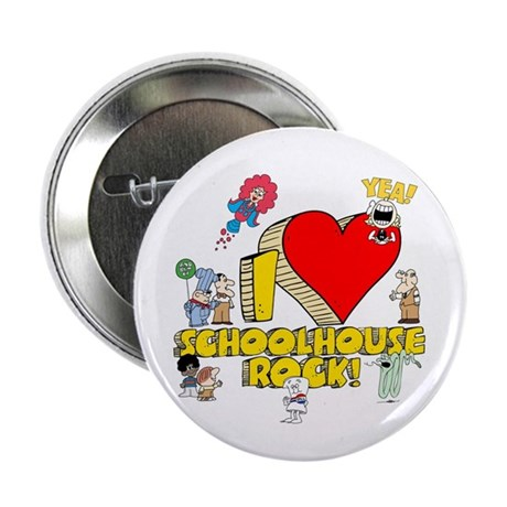 "I Heart Schoolhouse Rock! 2.25"" Button (100 p"