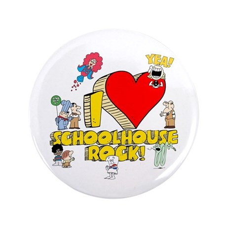 "I Heart Schoolhouse Rock! 3.5"" Button"