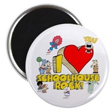 I Heart Schoolhouse Rock! Magnet