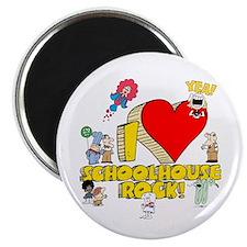 "I Heart Schoolhouse Rock! 2.25"" Magnet (10 pa"