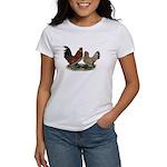 DUccle Mille Fleur Pair Women's T-Shirt