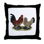 DUccle Mille Fleur Pair Throw Pillow