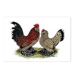 DUccle Mille Fleur Pair Postcards (Package of 8)