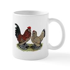 DUccle Mille Fleur Pair Mug