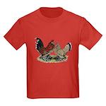 DUccle Mille Fleur Pair Kids Dark T-Shirt