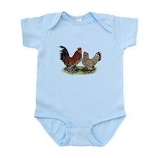 DUccle Mille Fleur Pair Infant Bodysuit