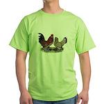 DUccle Mille Fleur Pair Green T-Shirt