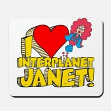 I Heart Interplanet Janet! Mousepad
