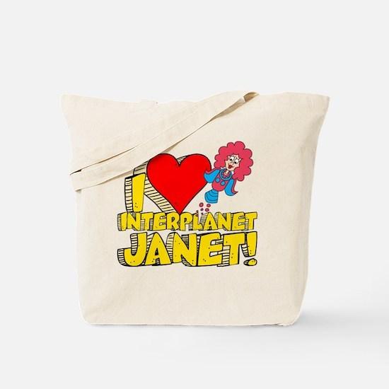 I Heart Interplanet Janet! Tote Bag