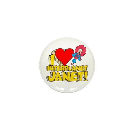 I Heart Interplanet Janet! Mini Button