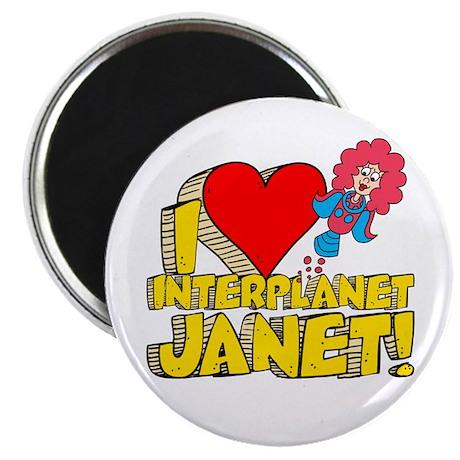 I Heart Interplanet Janet! Magnet