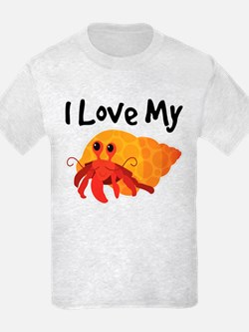 I Love My Hermit Crab T-Shirt