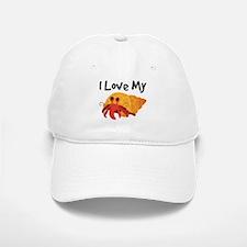 I Love My Hermit Crab Baseball Baseball Cap