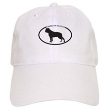 American Bulldog Silhouette Baseball Cap