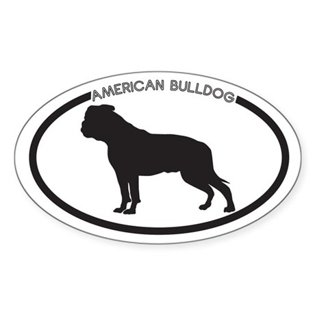 American bulldog silhouette - photo#5
