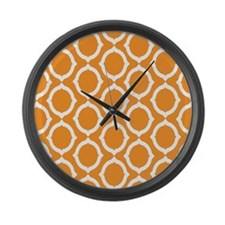 Chain Link Large Wall Clock