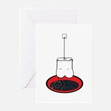 tea bag 2.0 Greeting Cards (Pk of 10)