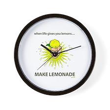 Make lemonade - Wall Clock