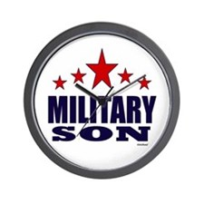 Military Son Wall Clock