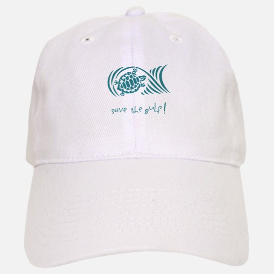 save the gulf - water turtle Cap