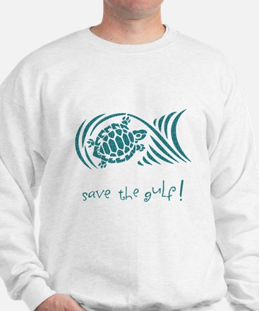 save the gulf - water turtle Jumper