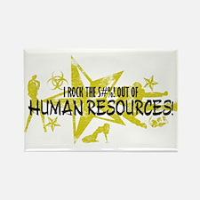 I ROCK THE S#%! - HR Rectangle Magnet