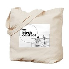 Cute Birth control Tote Bag