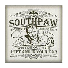Southpaw (in your ear) Tile Coaster