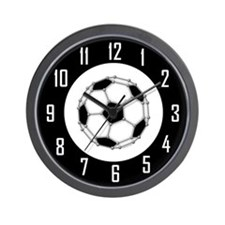 Buckyball Soccer Wall Clock
