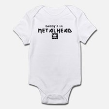 Mommy's Lil Metalhead Infant Creeper