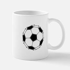Buckyball Soccer Mug