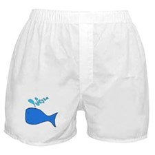 Whale's Tail Boxer Shorts