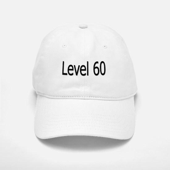 Level 60 Baseball Baseball Cap