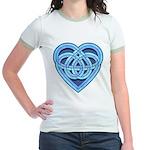 Adanvdo Heartknot Jr. Ringer T-Shirt
