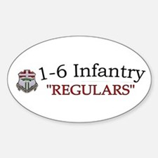 1st Bn 6th Inf Decal