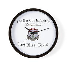 1st Bn 6th Inf Wall Clock