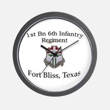 1st Bn 6th Inf Wall Clock