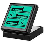 Trombone Music Gift Keepsake Box