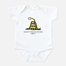 Anti-Obama Gadsden Flag Infant Bodysuit