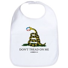 Anti-Obama Gadsden Flag Bib
