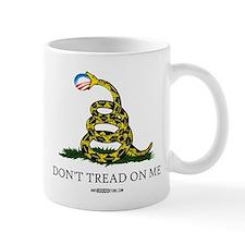 Anti-Obama Gadsden Flag Mug