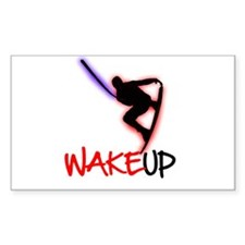 Wake Up Red/Purple Decal