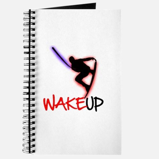 Wake Up Red/Purple Journal