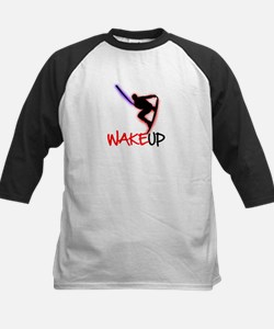 Wake Up Red/Purple Tee