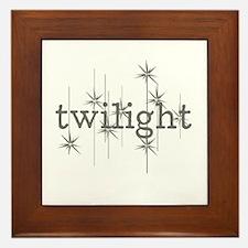 'Twilight' Framed Tile