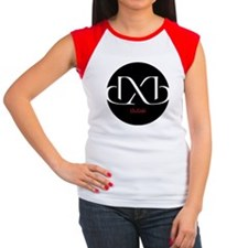 DXB Dubai Women's Cap Sleeve T-Shirt