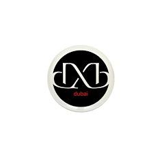 DXB Dubai Mini Button (100 pack)