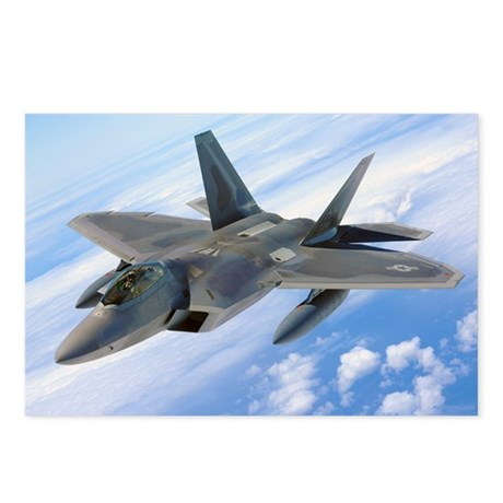 F22 Raptor Postcards (Package of 8)