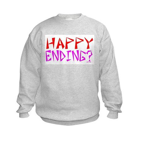 HAPPY ENDING Kids Sweatshirt